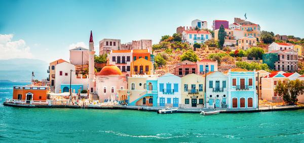 Ostrov Kastelorizo, Grécko