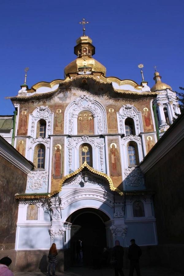 Vstup do komplexu Kyjevsko-pečerská