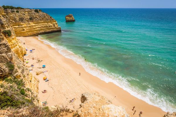 Praia Marinha, Carvoeiro, Portugalsko
