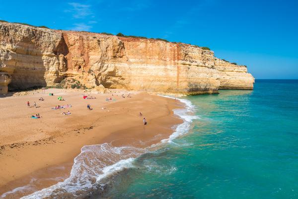 Praia de Benagil, Algarve,