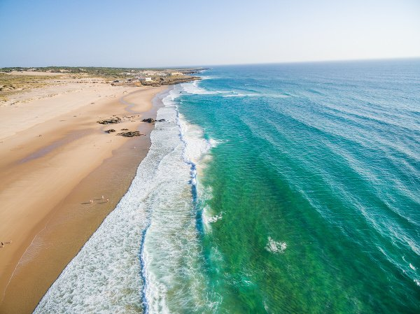 Pláž Guincho, Cascais, Portugalsko
