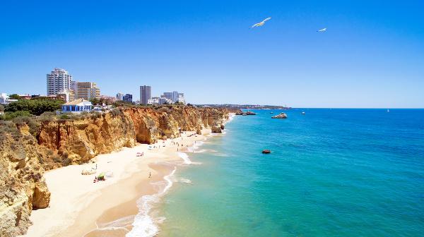 Praia de Rocha, Algarve,