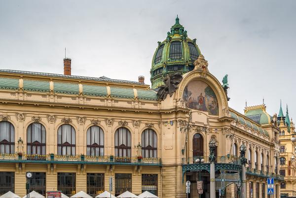 Obecný dom, Praha, Česká