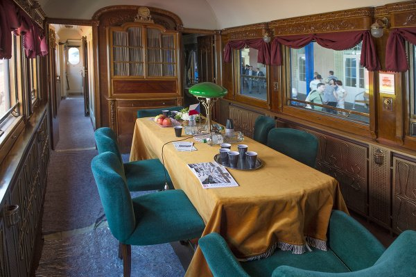 Prezidentský vlak v Bratislave