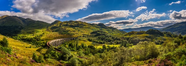 Glenfinnan a West Highland