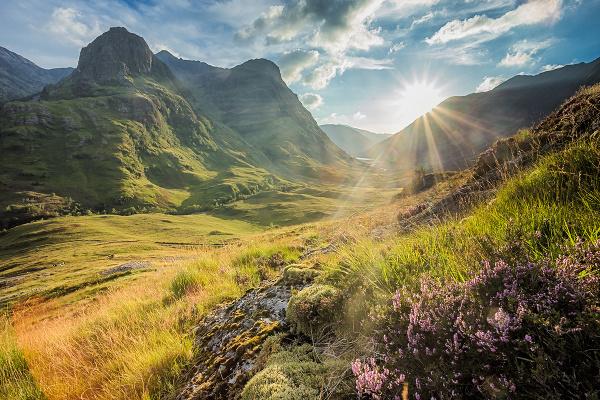 Glen Coe, Škótska vysočina