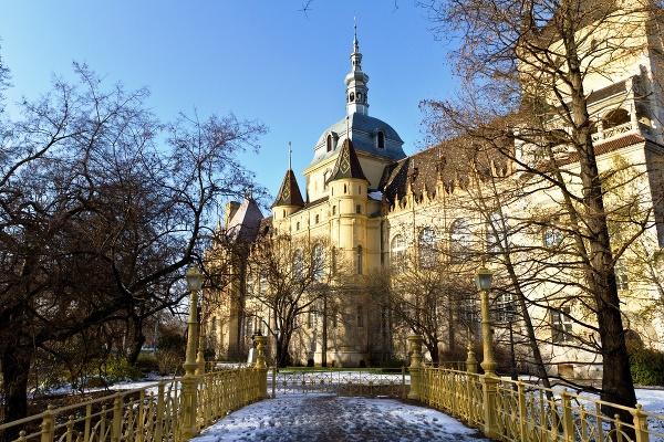 Vajdahunyadský hrad, Budapešť, Maďarsko