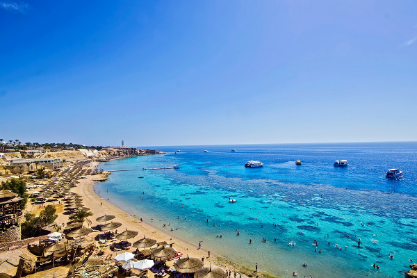 Pláž v Sharm El