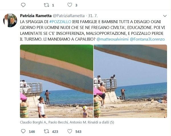 Ľudí na pláži šokovali
