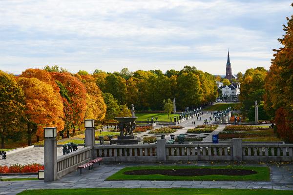 Vigeland park, Oslo, Nórsko