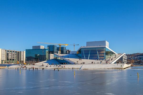 BudovA Opery, Oslo, Nórsko