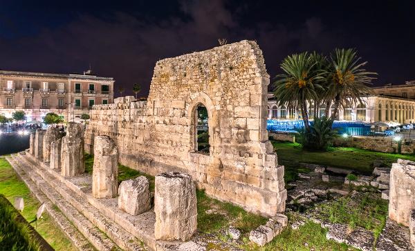 Syrakúzy, Sicília, Taliansko