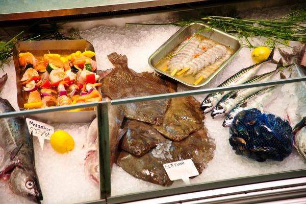 Rybí trh, Švédsko