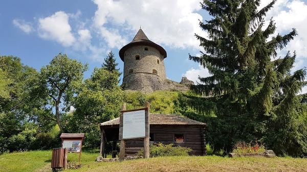 Hrad Šomoška v Šiatorskej