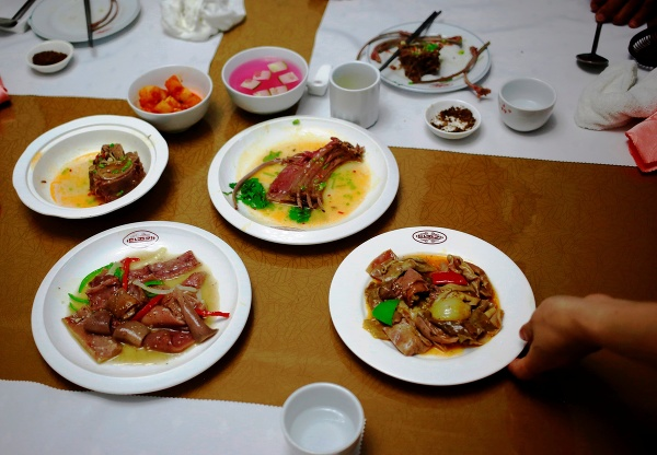 Pchjongjanská reštaurácia, ktorá sa