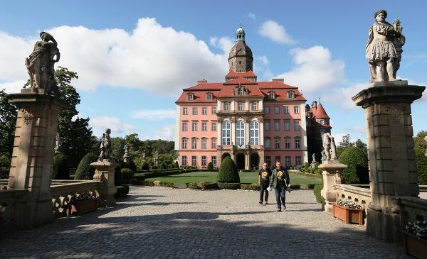 Zámok Ksiaz, Poľsko