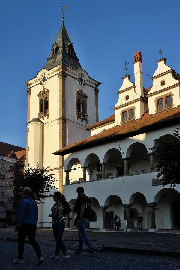 Zvonica v Levoči