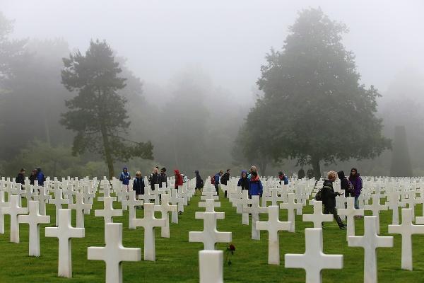 Americký cintorín pri pláži