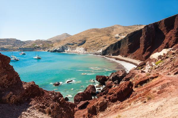 Ostrov Santorini, Grécko