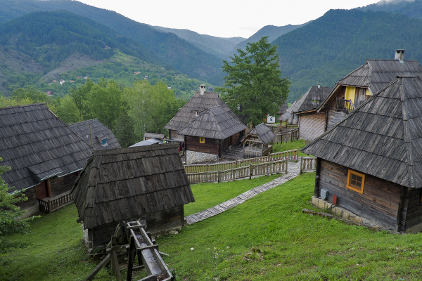 Mokra Gora, Srbsko
