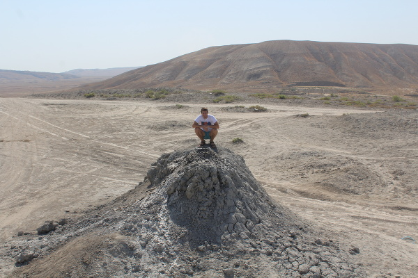 Bahenné sopky, Azerbajdžan