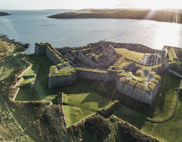 Charles Fort, Írsko