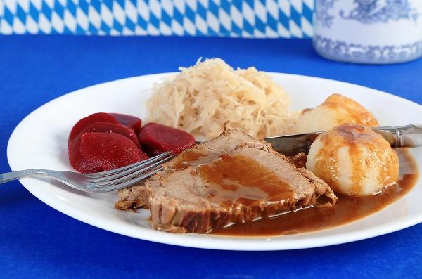 Nemecké jedlo Sauerbraten