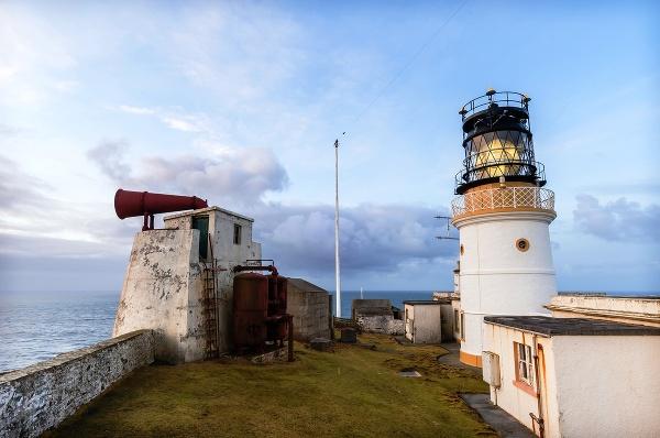 Maják Bressay, Shetlandy, Škótsko