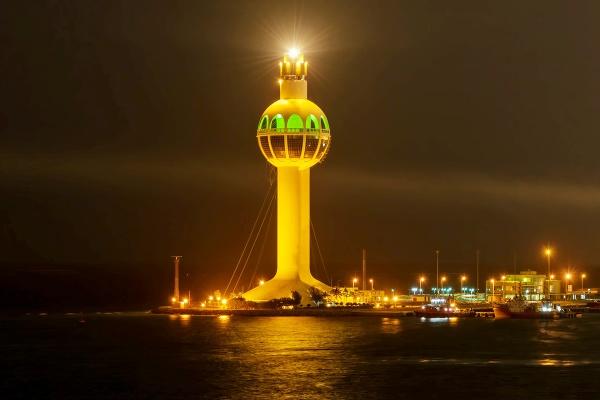 Prístavná veža Džidda, Saudská