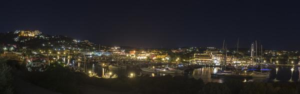 Nočné Porto Cervo