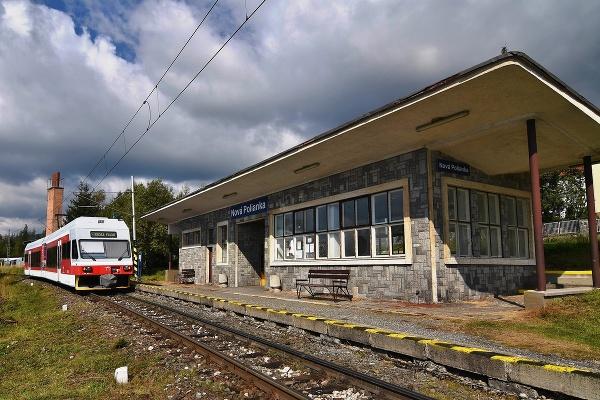Stanica v Novej Polianke