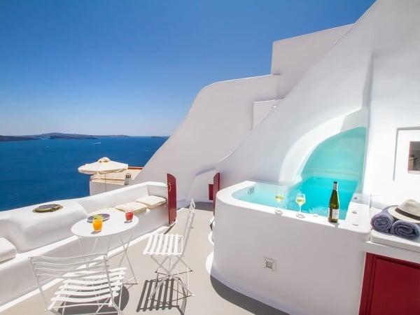 Jaskynný dom Hector, Santorini,