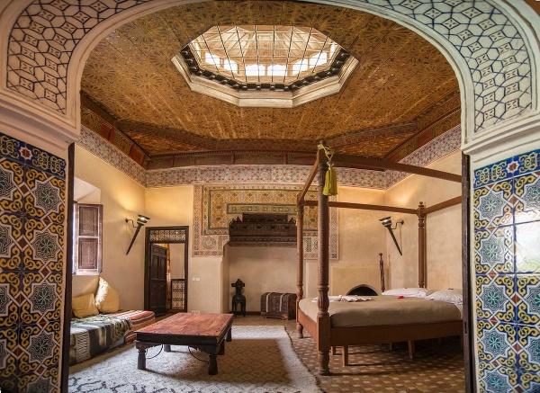 Útulný palác, Maroko