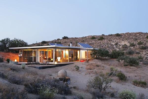 It House, údolie Yucca,