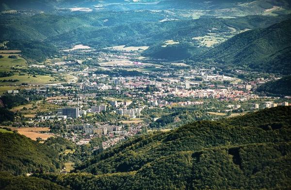 Pohľad na Banskú Bystricu