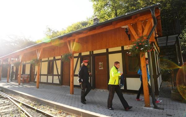 Nová staničná budova Košickej