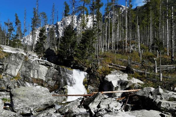 Na snímke Vodopády Studeného