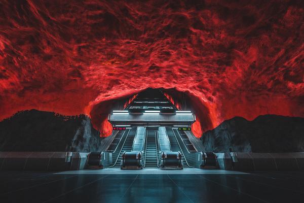 Stanica , Štokholm, Švédsko