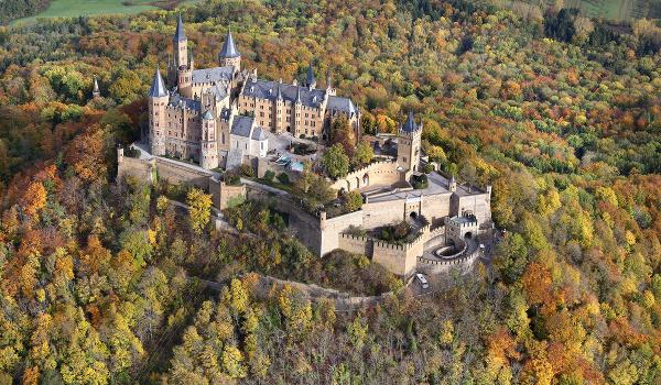 Hrad Hohenzollern, Nemecko