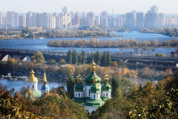 Pohľad na pravoslávny kláštorný