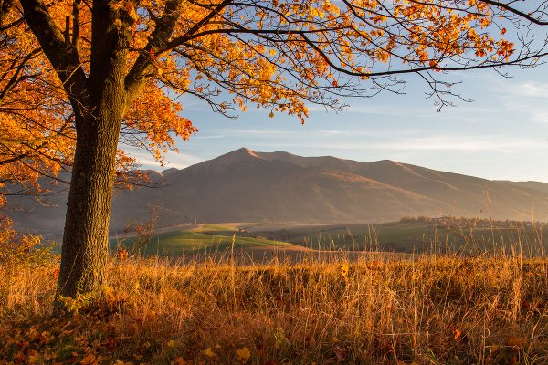 Západné Tatry na jeseň