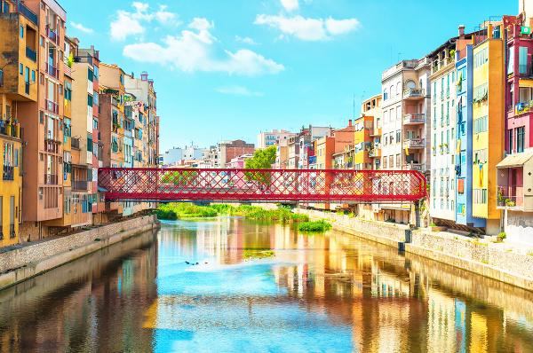 Eiffelov most, Girona, Španielsko