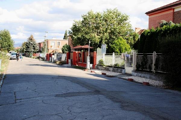 Červená ulica v Partizánskom