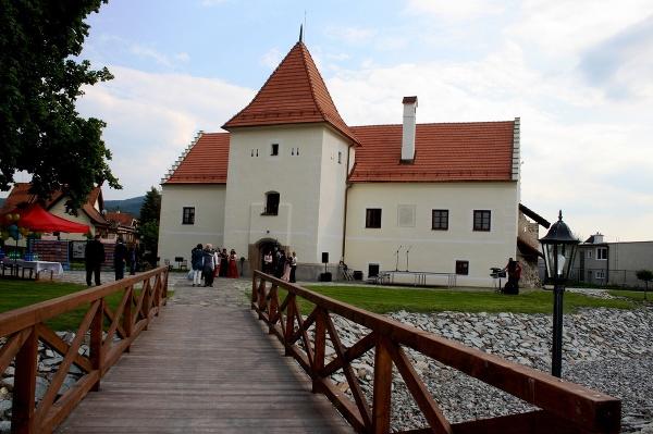 Vodný hrad v Partizánskom,