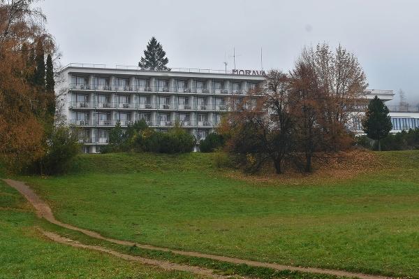 Na snímke Hotel Morava