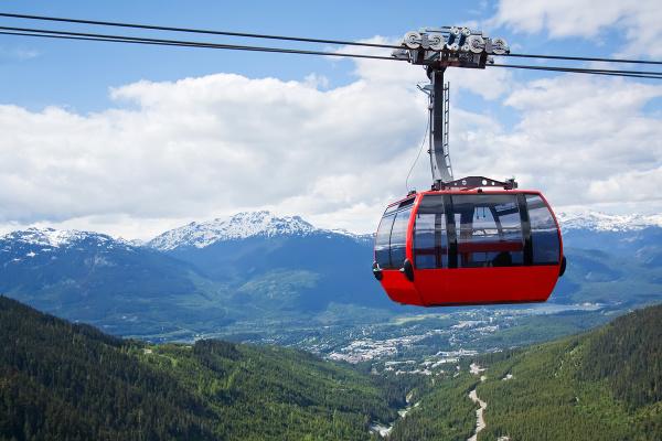 Peak2Peak Gondola, Whistler, Kanada