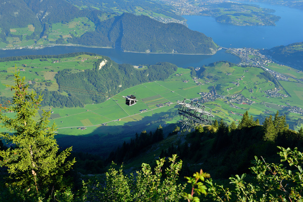 Lanovka na Stanserhorn, Švajčiarsko