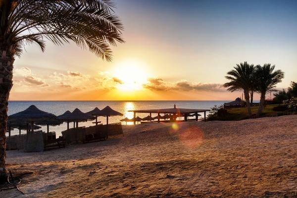 Pláž v Egypte