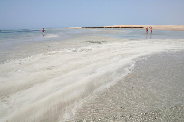 Pláž Sharm El Luli,