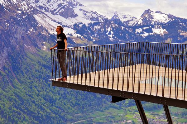 Vyhliadka Harder Kulm, Švajčiarsko